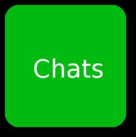 Mit Freunden im Chat oder Videochat reden